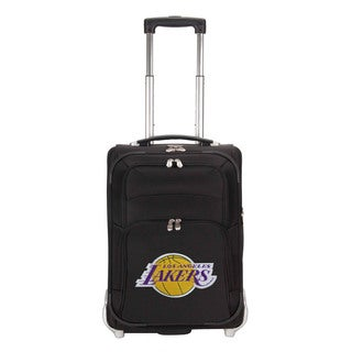 Denco Sports Luggage NBA Los Angeles Lakers 21-inch Carry On Upright Suitcase