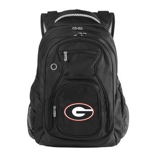 Denco Sports Luggage NCAA Georgia Bulldogs 17.5-inch Laptop Backpack