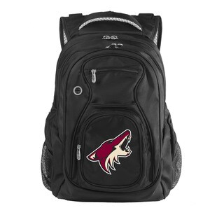 Denco Sports Luggage NHL Arizona Coyotes 17.5-inch Laptop Backpack