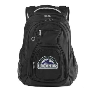 Denco Sports Luggage MLB Colorado Rockies 17.5-inch Laptop Backpack
