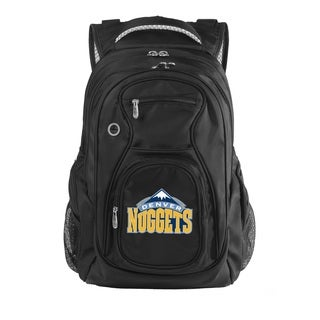 Denco Sports Luggage NBA Denver Nuggets 17.5-inch Laptop Backpack