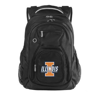 Denco Sports Luggage NCAA Illinois Fighting Illini 17.5-inch Laptop Backpack