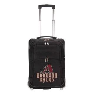 Denco Sports Luggage MLB Arizona Diamondbacks 21-inch Carry On Upright Suitcase