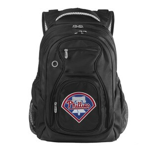 Denco Sports MLB Philadelphia Phillies 17.5-inch Laptop Backpack