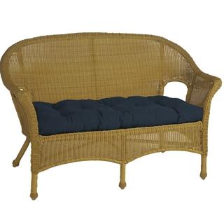 Royal Navy Blue Outdoor Love Seat Cushion