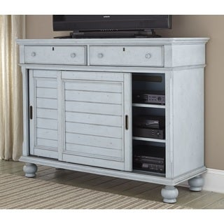 Laguna Powder Blue Media Chest