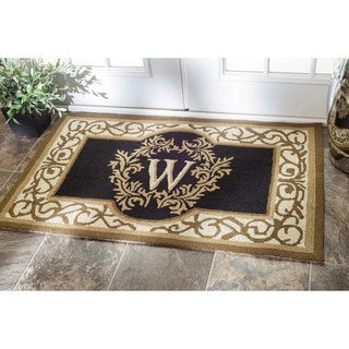 nuLOOM Handmade Estate Monogrammed Welcome Door Mat (2'6 x 4')