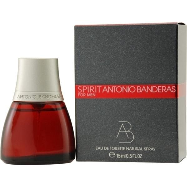 Antonio Banderas Spirit Mens .5-ounce Eau de Toilette Spray
