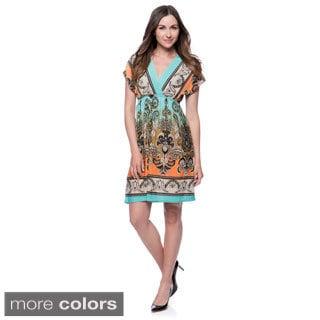 Women's Summer Dress Paisley Print