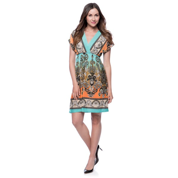 Women's Summer Dress Paisley Print