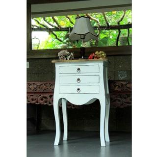 Virgil 3-drawer Side Table