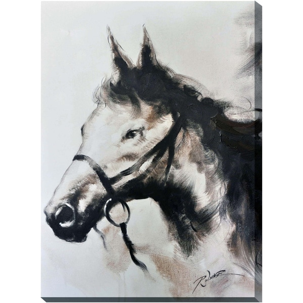 Horse Canvas Print Wall Art