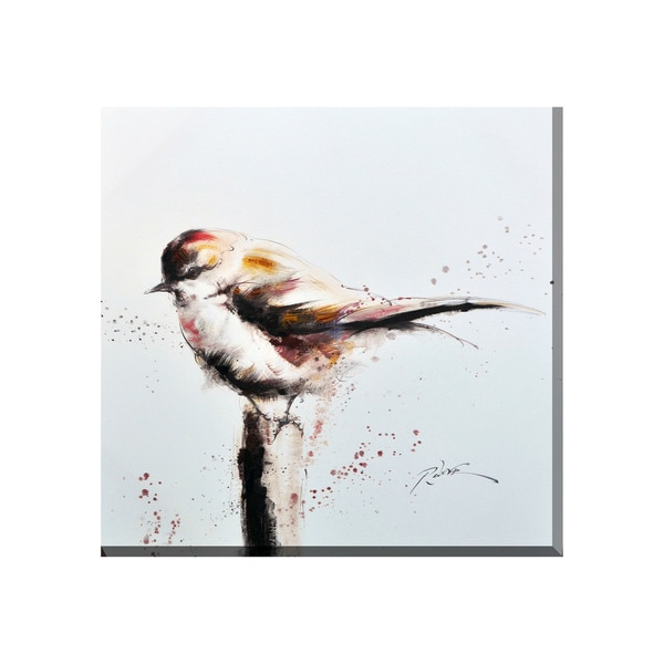 Sparrow Canvas Print Wall Art