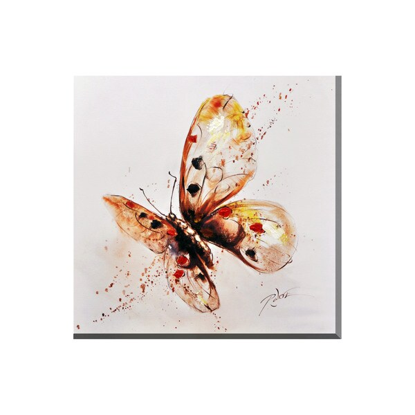 Butterly Canvas Print Wall Art