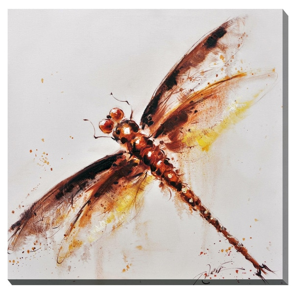 Dragonfly Canvas Print Wall Art