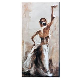 Porthos Home Dance Partner Canvas Print Wall Art