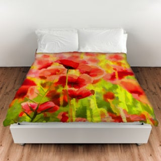 Thumbprintz Poppies Duvet Cover