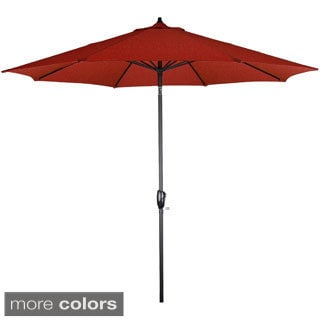 Somette 9-Foot Aluminum Frame Solid Market Umbrella