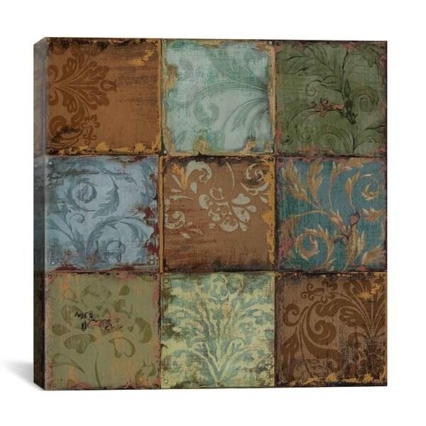 iCanvas Daphne Brissonnet Tapestry Tiles Canvas Print Wall Art