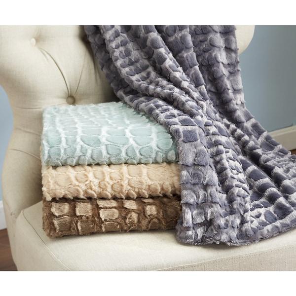 Hastings Sculpted Throw Blanket