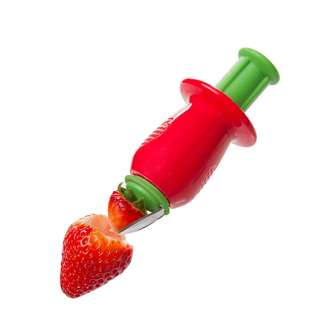 Progressive International Prepsolutions Push n Spin Strawberry Huller