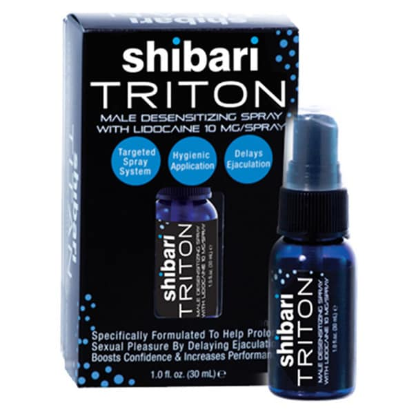 Shibari Triton Men's Desensitizing Spray