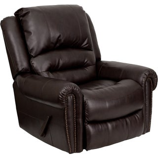 Flash Furniture Brown Bonded Leather Motion Recliner