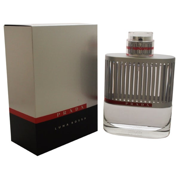 Prada Luna Rossa Men's 3.4 ounce Eau de Toilette Spray
