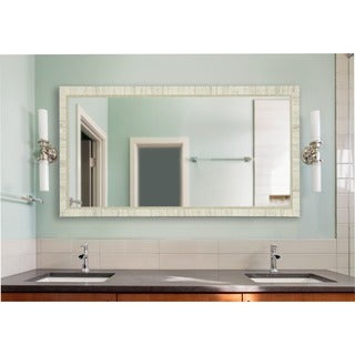 American Made Rayne Extra Large Tuscan Ivory Wall Mirror