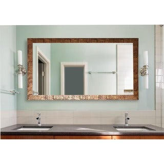 American Made Rayne Extra Large Safari Bronze Wall Mirror