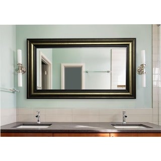 American Made Rayne Stepped Antiqued Extra Large Mirror