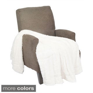 BOON Double Sided Faux Fur Throw
