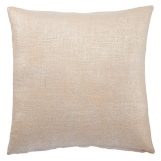 Handmade Solid Grey 18-inch Throw Pillow