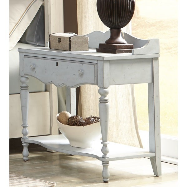 Laguna Powder Blue Night Table