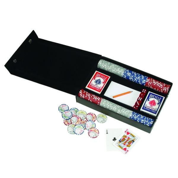 Royce Leather Professional Poker Set
