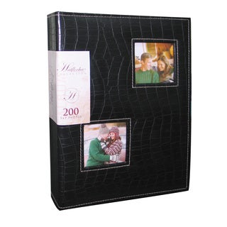 Kleer Vu Leatherette Croco Photo Album Holds 200 5x7 photos, 2 photos per page