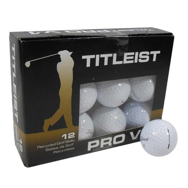Nitro Golf Titleist ProV1 Recycled A 12-pack Golf Balls