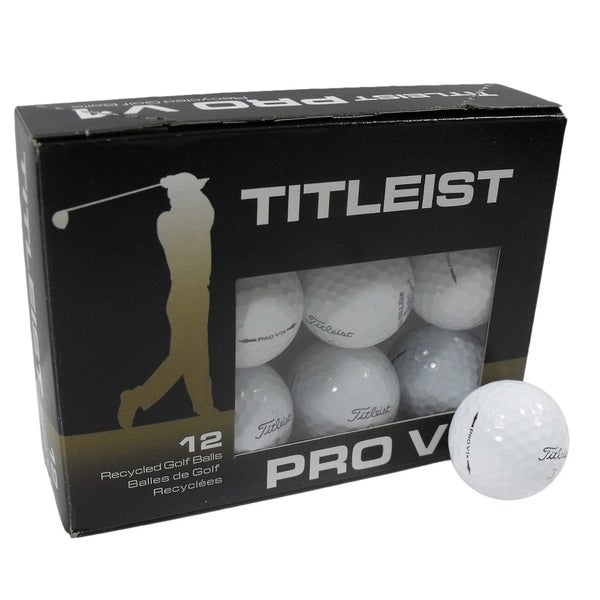 Nitro Golf Titleist ProV1 Recycled A/B 12-pack Golf Balls