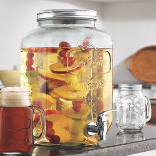 Mason Jar Beverage Dispenser 15233407