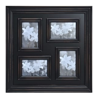 Melannco 4-opening Distressed 4x6 Black Collage Frame