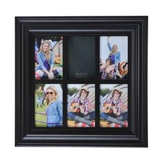 Melannco 6-opening Espresso Window Collage Frame