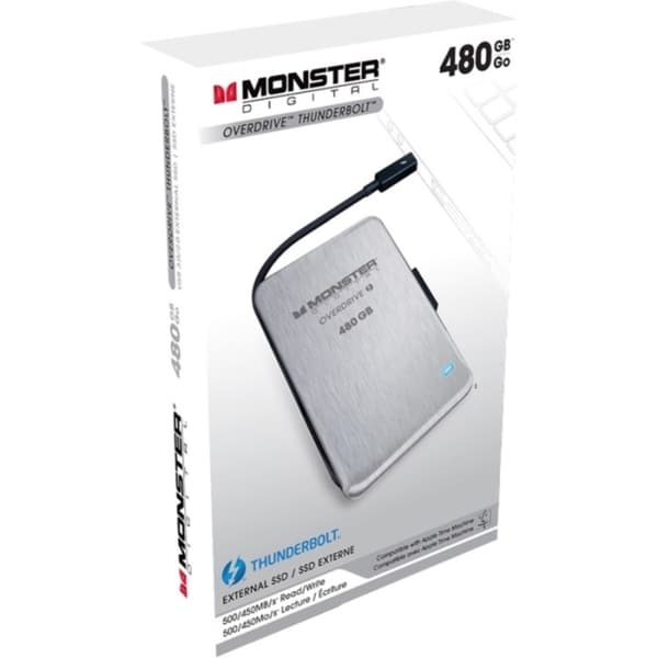 Monster Digital OverDrive Thunderbolt SSDOT-0480-A 480 GB External So