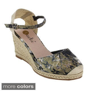 Machi NF-AHELO Women's Lucky Espadrille Wedges