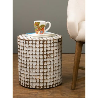 Decorative Harper Modern Off-white Rectangle Accent Table