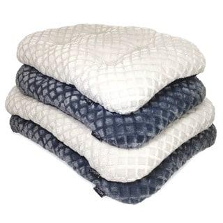 Diamond Plush Tufted Bed