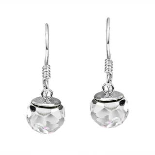 Dangle Crystal Prism .925 Sterling Silver Earrings (Thailand)