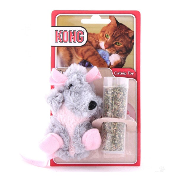 Kong Refillables Rat Cat Toy with Catnip