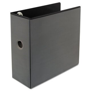 Universal One Comfort Grip Deluxe Plus Black D-Ring View Binder