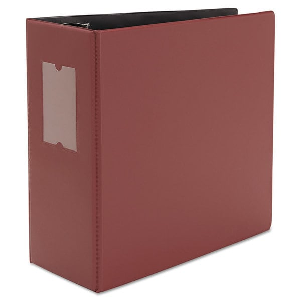 Universal One D-Ring Navy Burgundy Binder