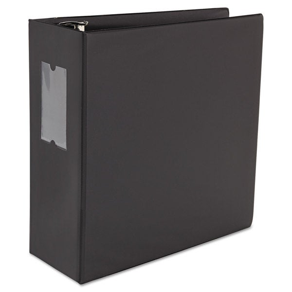 Universal One D-Ring Black Binder